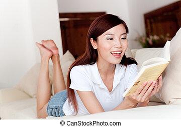 leitura, casa