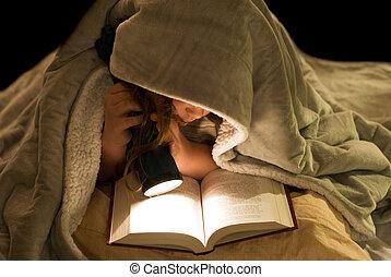 leitura, coberturas, sob