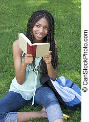 leitura, estudante