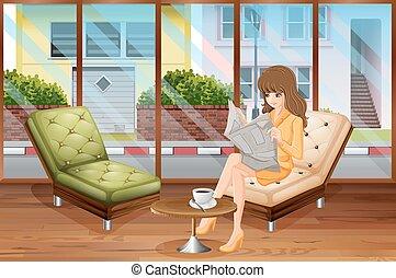 leitura mulher