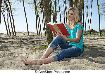 leitura mulher, livro