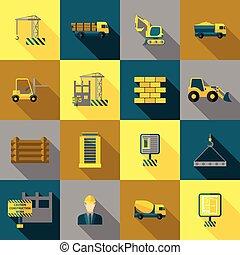 lejlighed, konstruktion, iconerne
