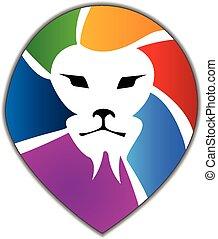 lejon, logo