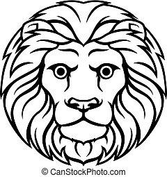 lejon, underteckna, zodiaken, lejonet, horoskop