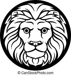 lejonet, lejon, zodiaken, underteckna