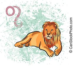 lejonet, tecken om zodiak