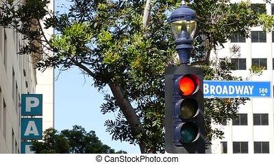 lekki, aleja, district., znak, nazwa, kolumna, śródmieście, ...