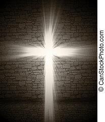 lekki, krzyż