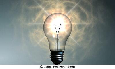 lekki, lampa