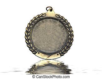 lekkoatletyka, medal, closeup