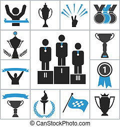 lekkoatletyka, nagroda, ikony