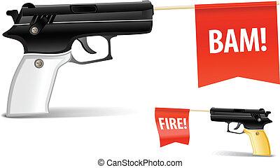 leksak gevär