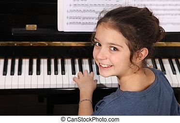 lektionen, klavier