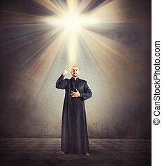 lelkész, áldás