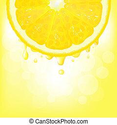 lemetsz, bokeh, citromlé