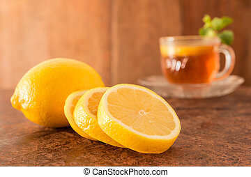 Lemon and Teacup