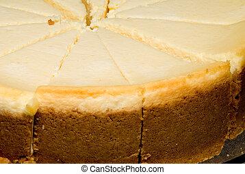 Lemon Custard Cake - A fresh rich gourmet lemon custard...