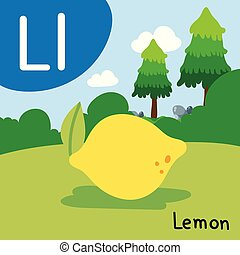 lemon drawing line vector design