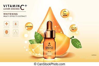 Lemon essence ads