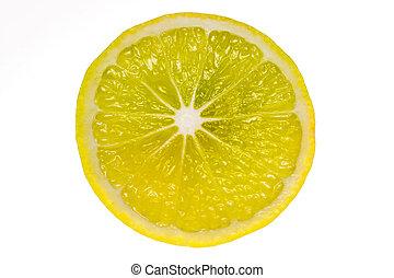 lemon., fetta