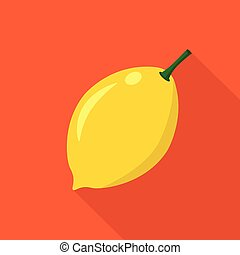 Lemon flat icon