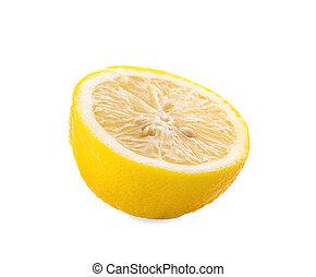 lemon fresh an isolated on white background