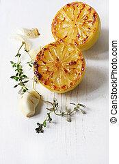 Lemon Garlic and Thyme