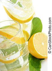 Lemon in Soda