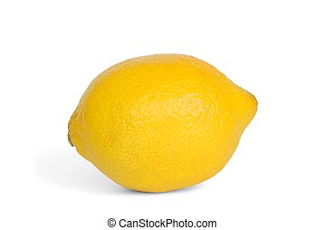 Lemon - Isolated lemon