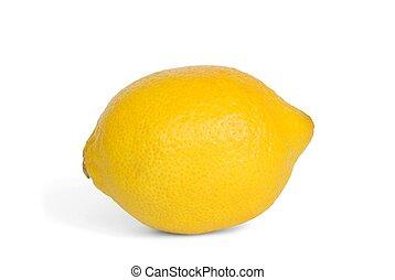 Isolated lemon