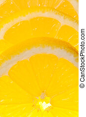 lemon isolated on a pure white background