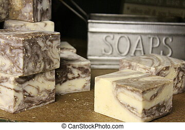 Delicious scent of lemon lavender handcrafted soap is said to help relax and cause peaceful sleep for it's users.