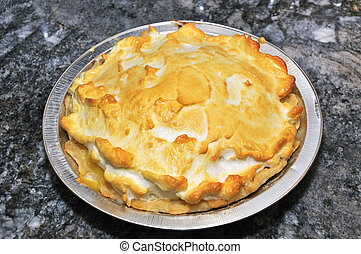 lemon meringue pie for dessert