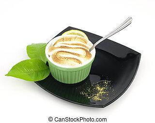 Lemon Meringue Pie on a cup