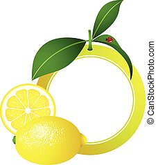 Lemon Photo Frame