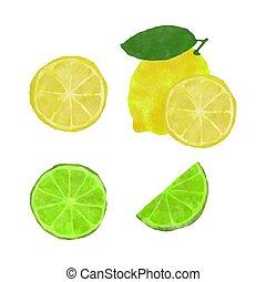 Lemon set