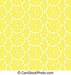 Lemon slice background - Scalable vectorial image ...