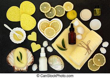Lemon Spa Beauty Treatment Products