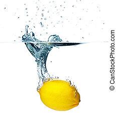 Lemon Splashing
