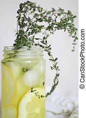 Lemon Thyme Soda