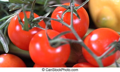 Lemon Tomatoes and Spices - Tomatoes with lemon and spices...