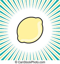 Lemon ,vector icon
