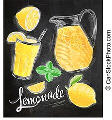 Lemonade elements chalk