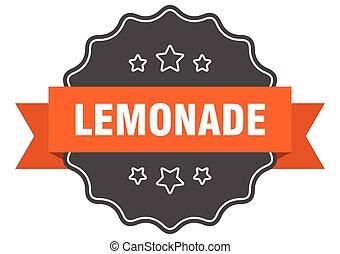 lemonade label. lemonade isolated seal. sticker. sign