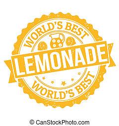 Lemonade stamp - Grunge rubber stamp with the word Lemonade ...