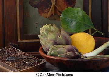 lemone, carciofo