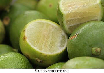 lemons at street food