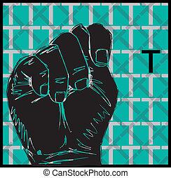 lenguaje por señas, mano, gestos