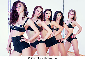 lengyel, táncol, nők