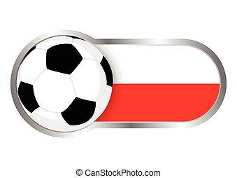 lengyelország, jelvény, futballcsapat